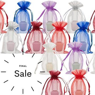 Mini organza bags 7x12cm Choose Your Color SALE